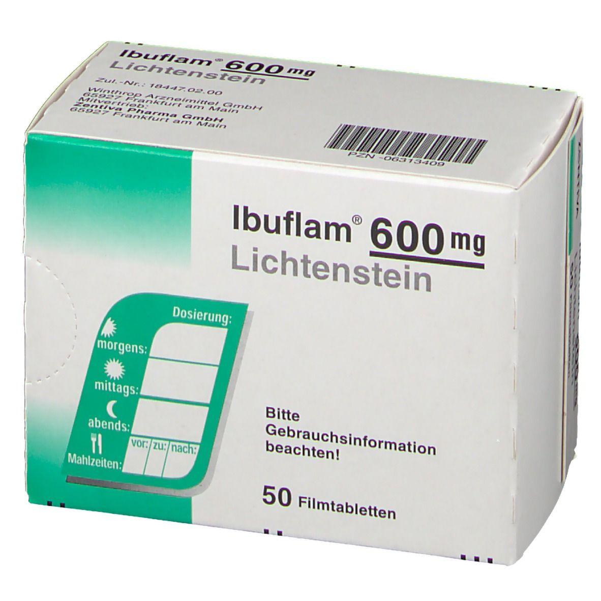 ibuflam 600 für was