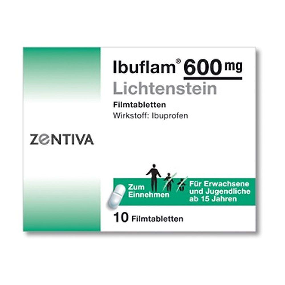 600mg ibuflam IBU 600