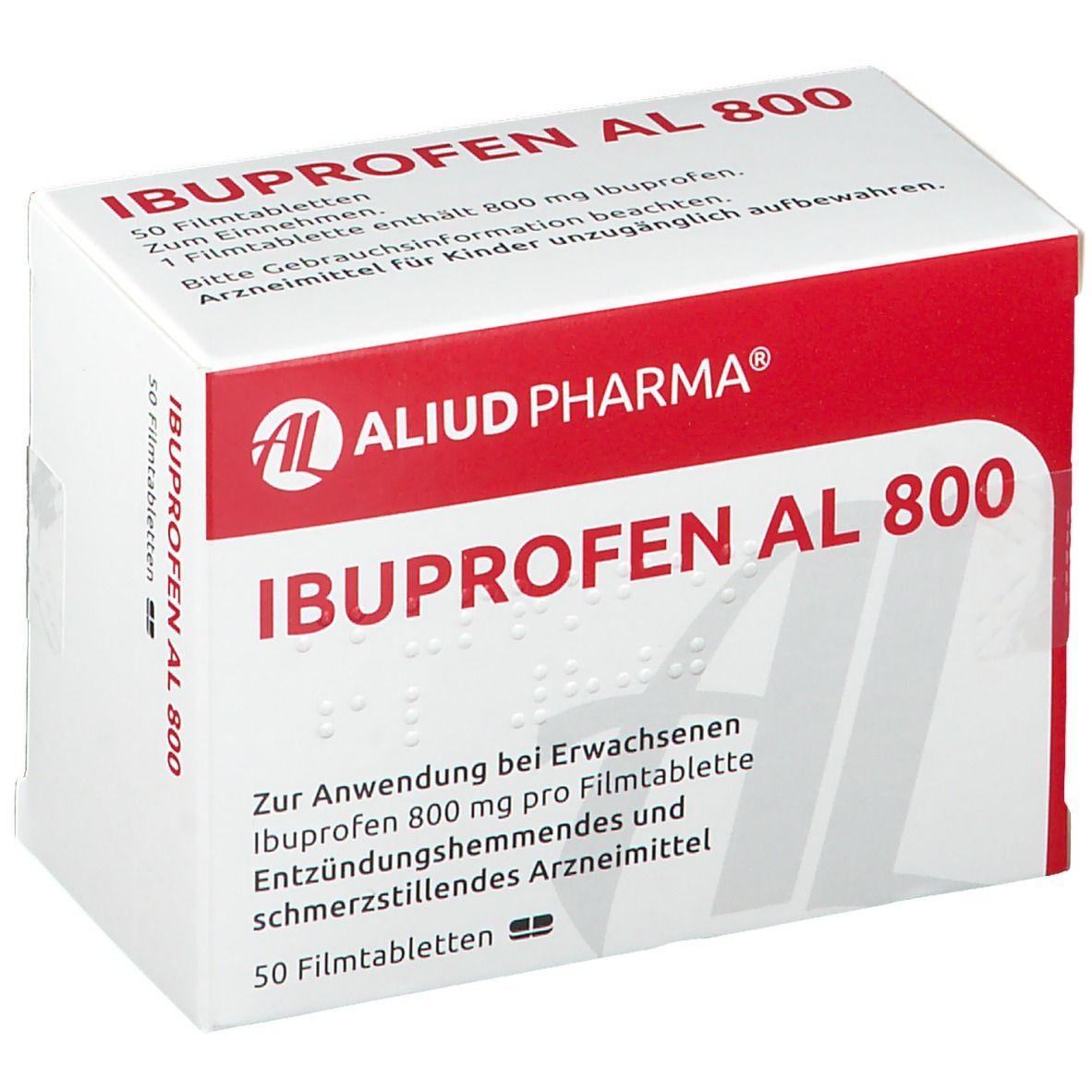 Ibuprofen AL 800 50 St - shop-apotheke.com