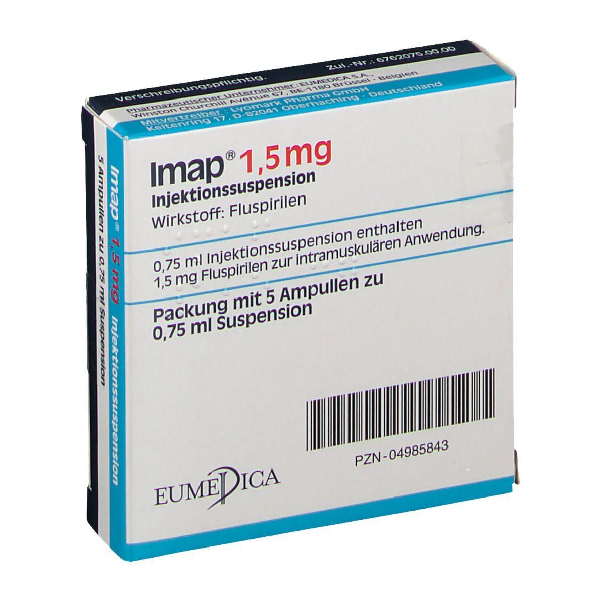 Fluspi spritze | FLUSPIRILEN (IMAP U.A.)