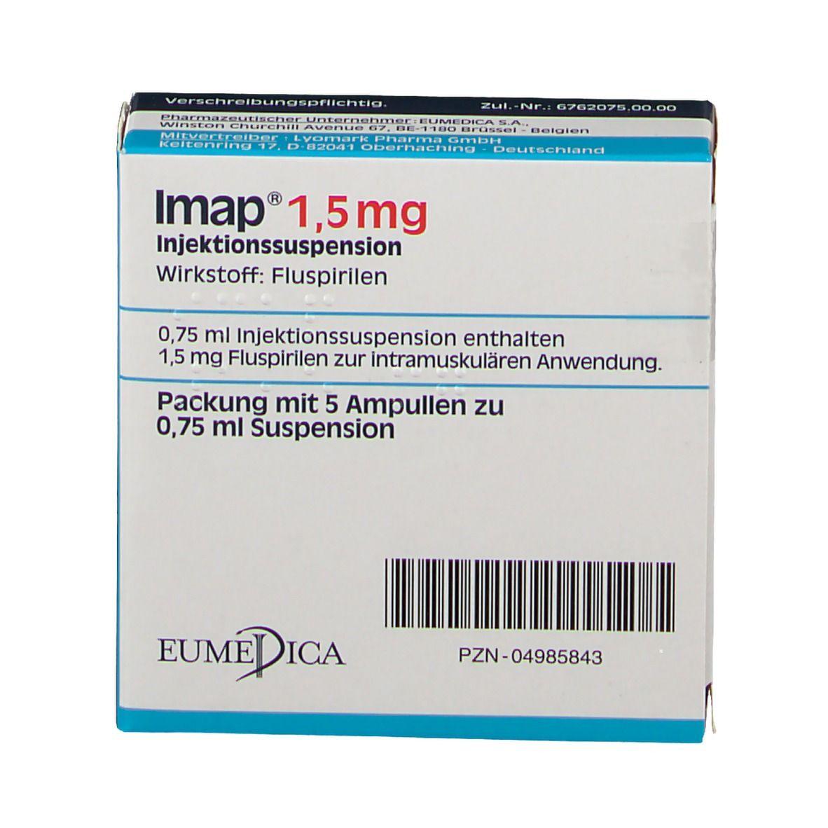 Imap spritze nebenwirkungen