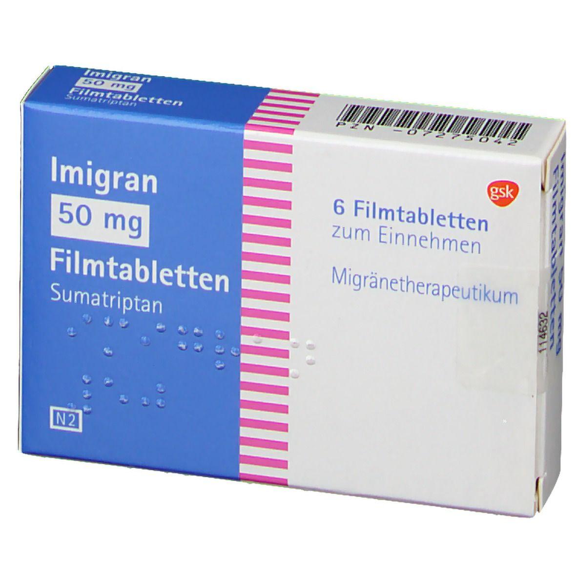 Imigran 50 mg Filmtabl.