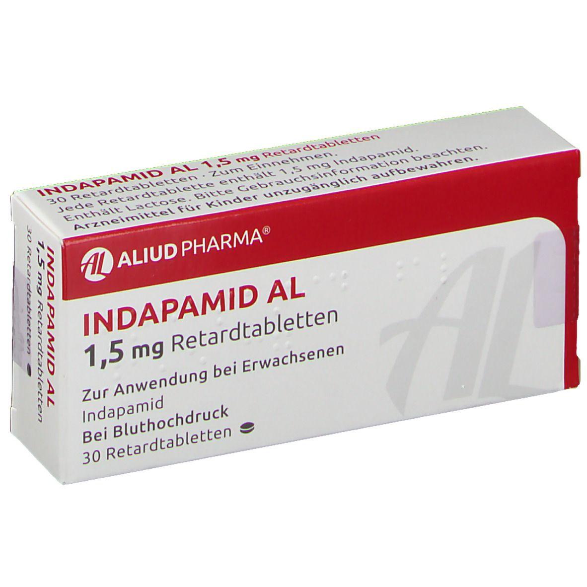 Indapamid AL 20,20 mg 20 St   shop apotheke.com