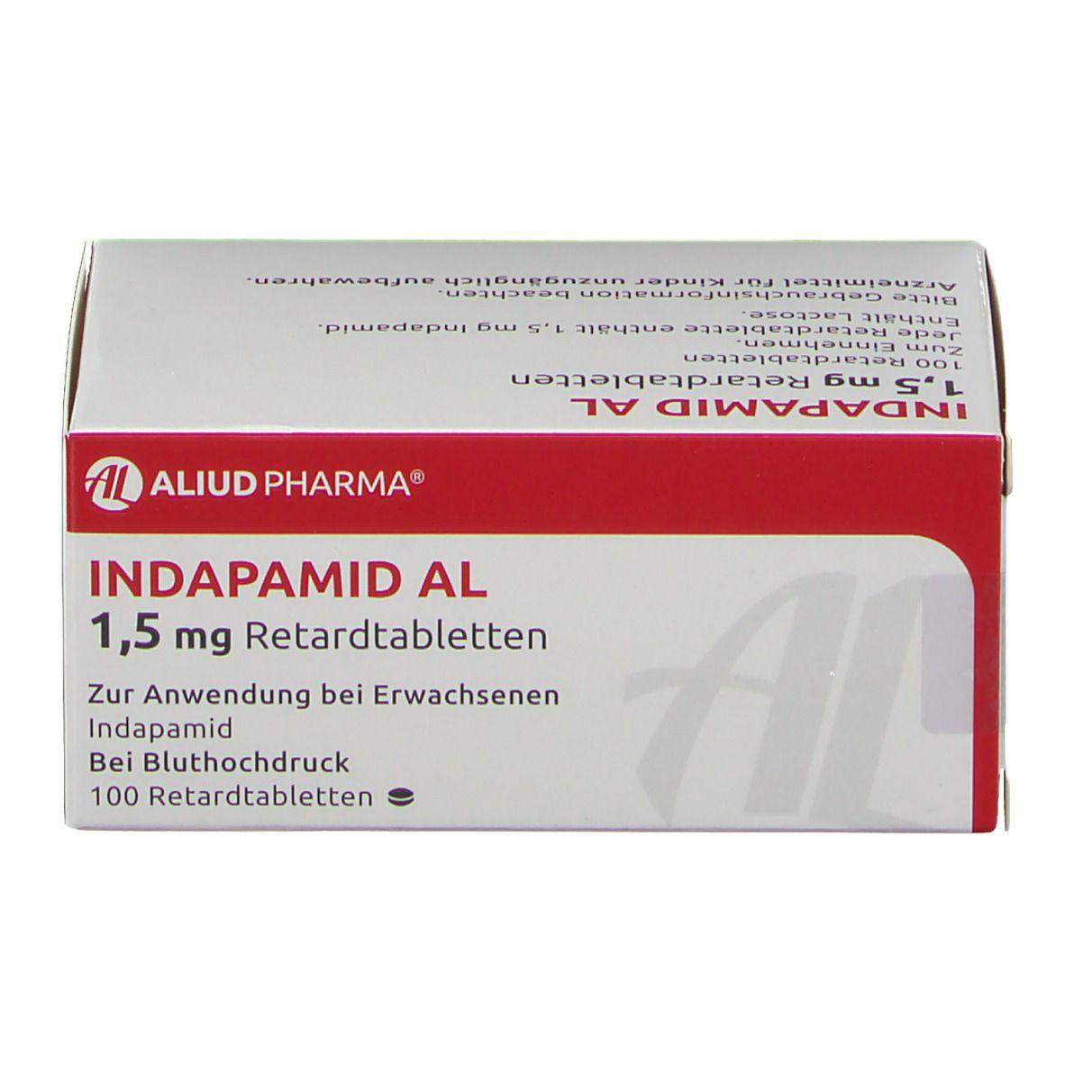 Indapamid AL 20,20 mg 2000 St   shop apotheke.com