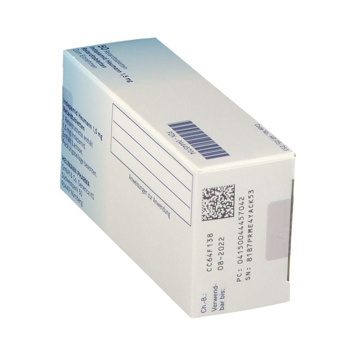 Indapamid Heumann 20,20 mg 200 St   shop apotheke.com