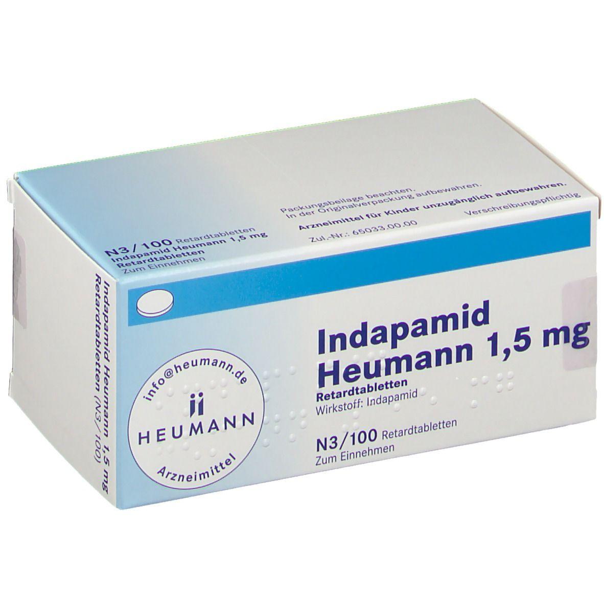 Indapamid Heumann 20,20 mg 2000 St   shop apotheke.com
