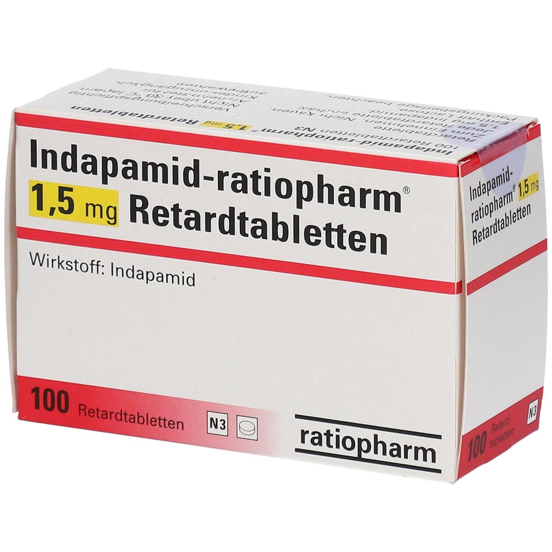 Indapamid ratiopharm® 20,20 mg 2000 St   shop apotheke.com