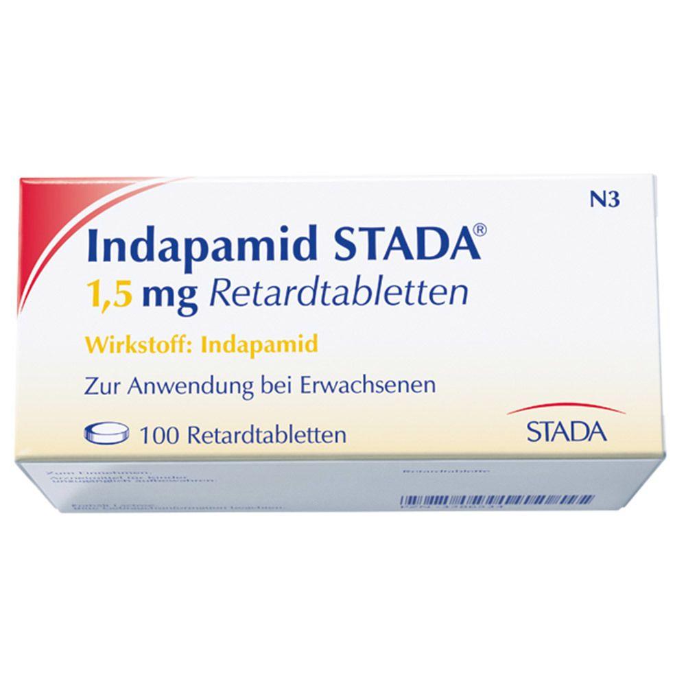 Indapamid STADA® 20,20 mg Retardtabletten 2000 St   shop apotheke.com