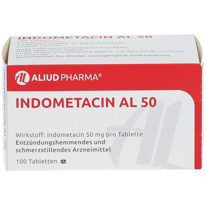 Indometacin AL 50 100 St - shop-apotheke.com