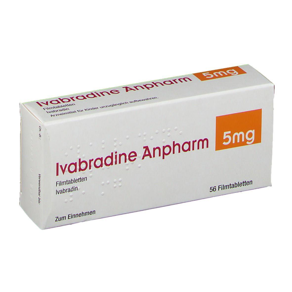 Ivabradine Anpharm 20 mg 20 St   shop apotheke.com
