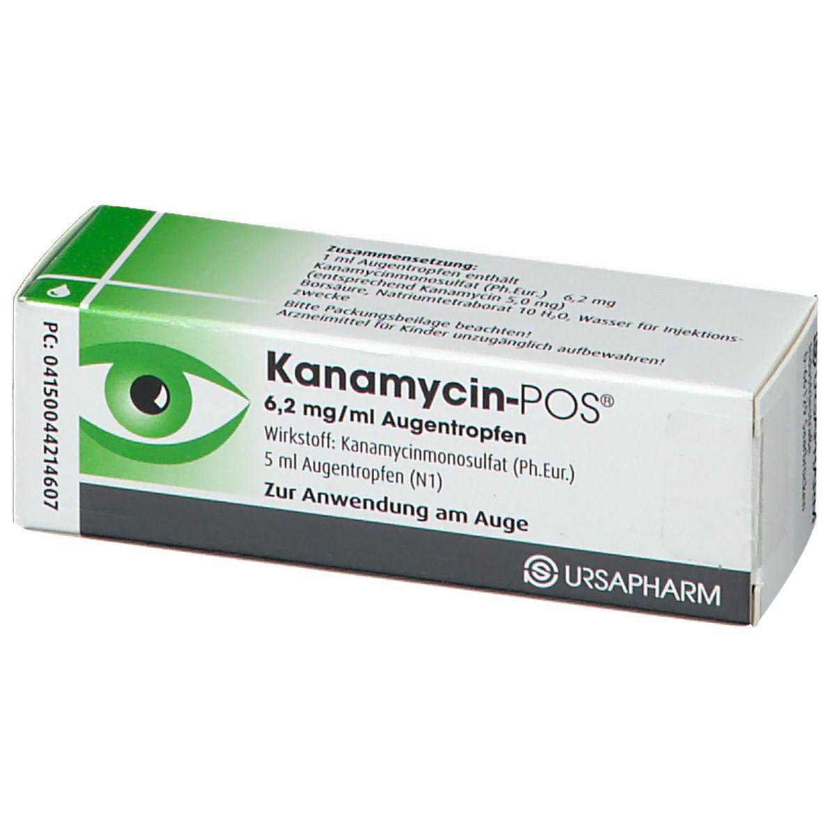 Kanamycin Augentropfen Baby