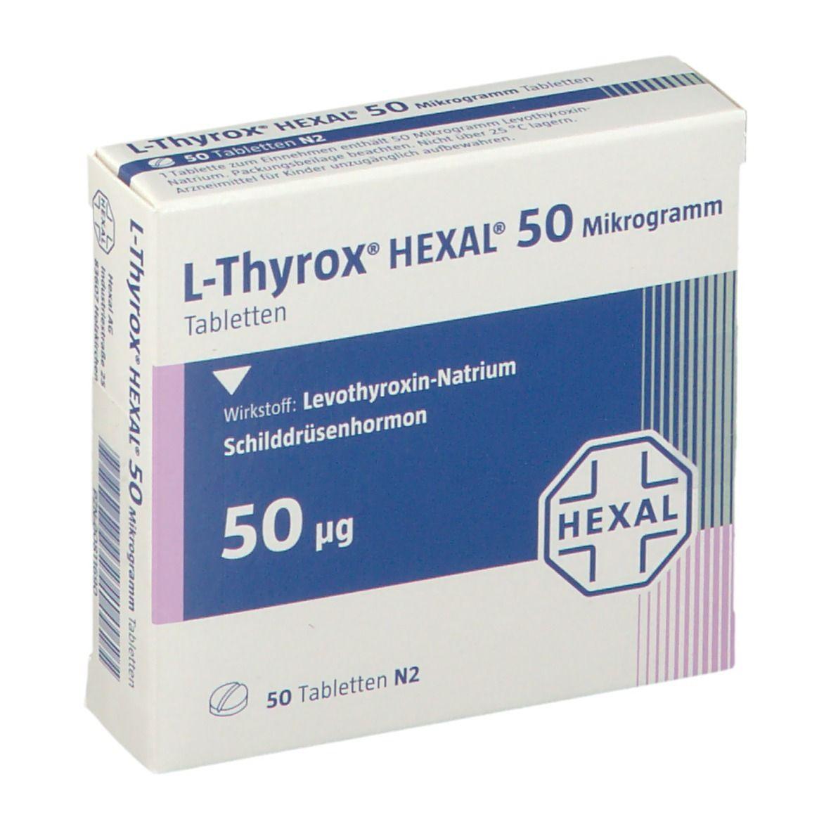 L Thyrox Hexal 50 Abnehmen