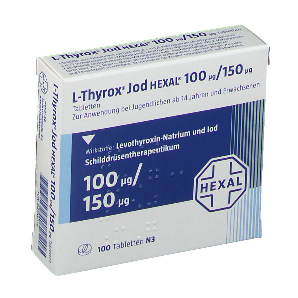L-Thyrox Hexal 50 Abnehmen