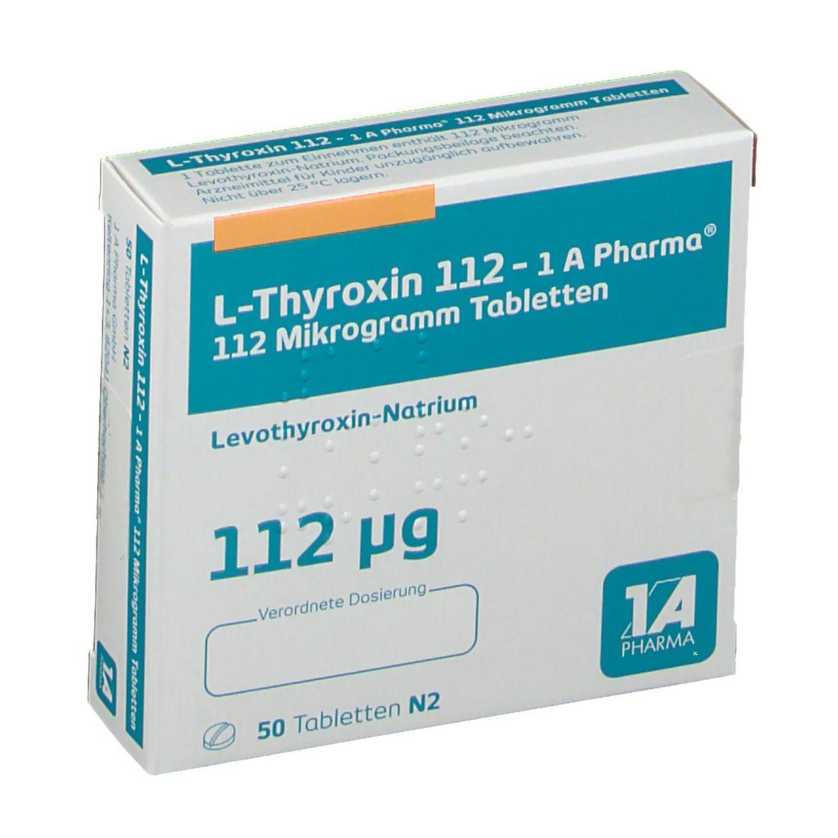 L-Thyroxin 112 1a Pharma Erfahrungen