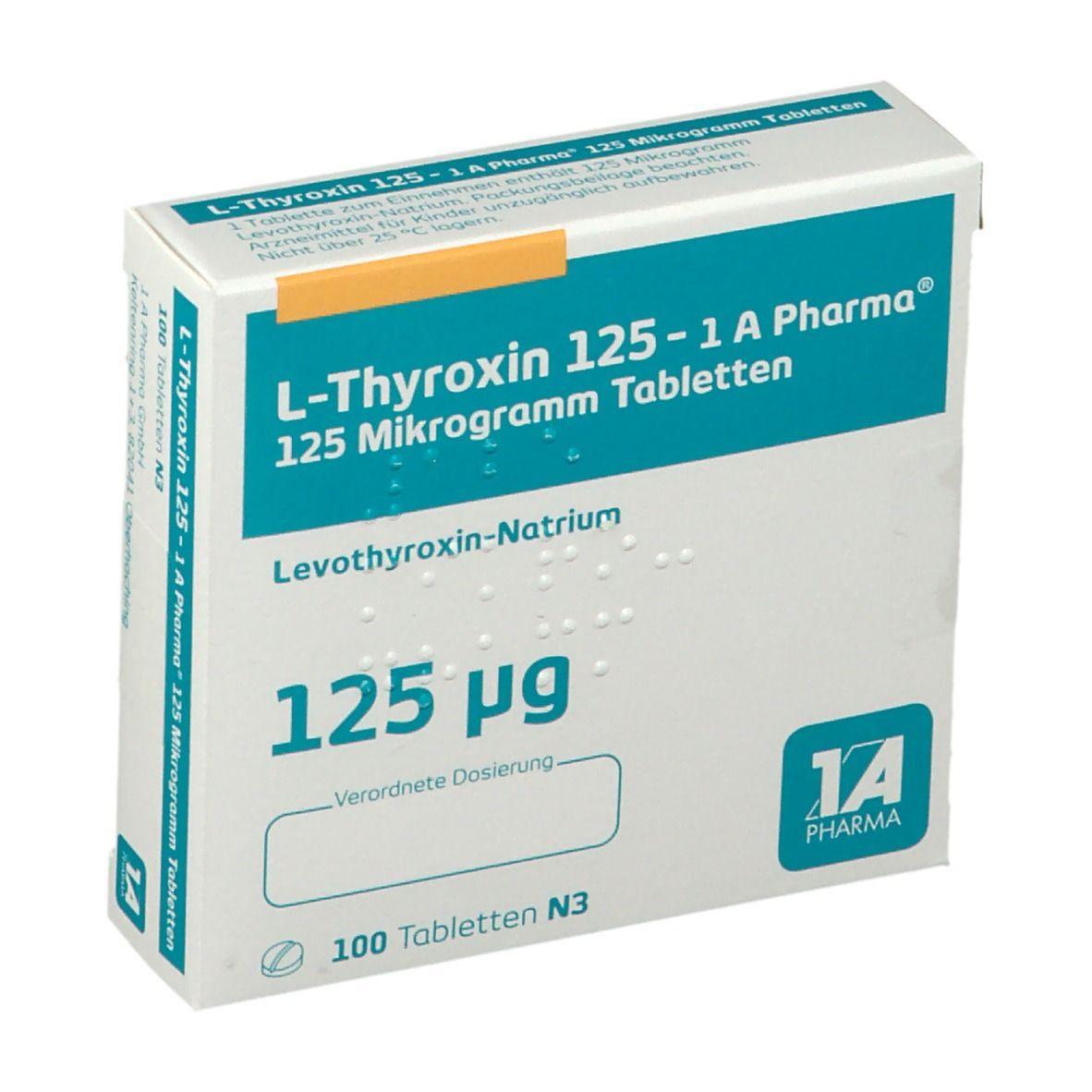 L Thyroxin 125 Gewichtszunahme