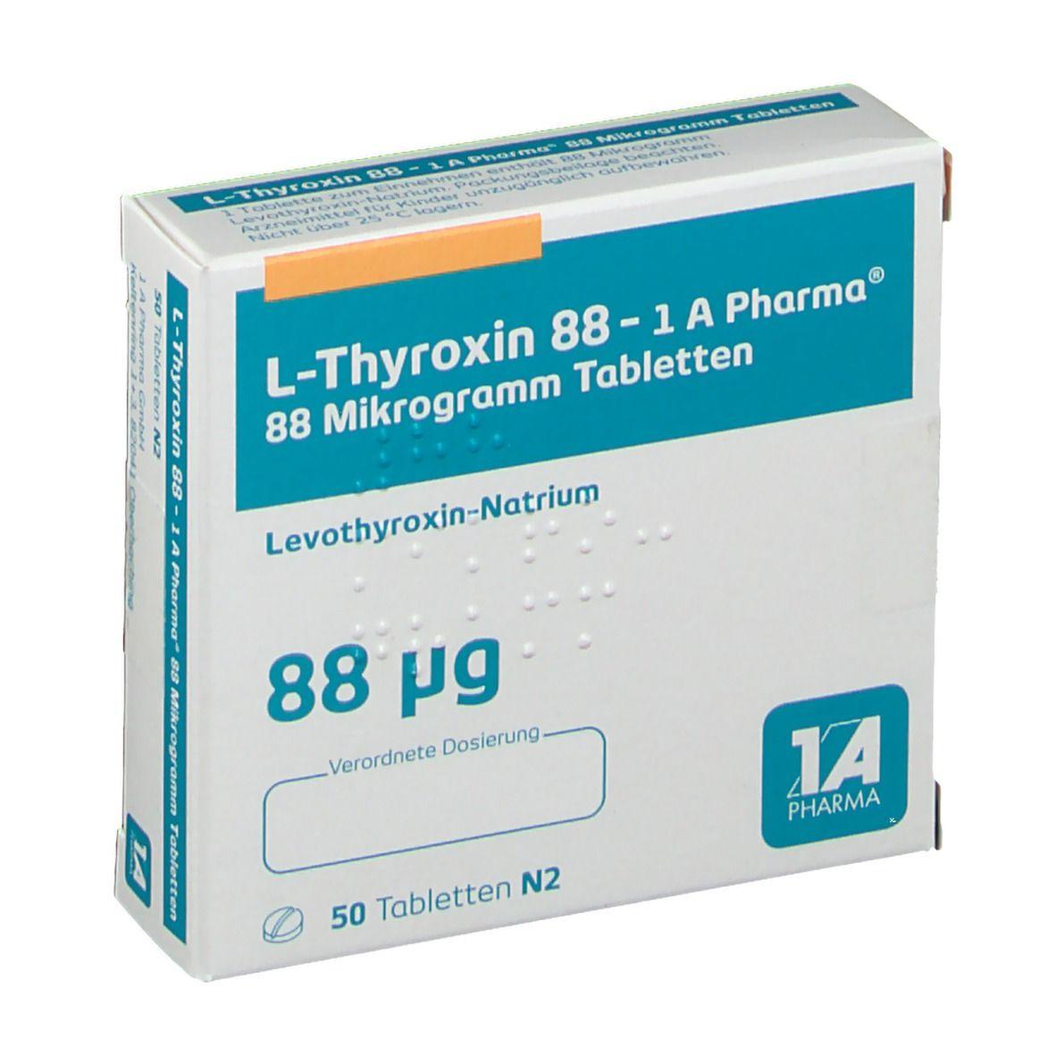 L Thyroxin 50 Gewichtszunahme