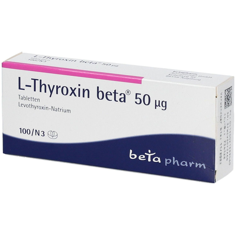 Anderen mit l medikamenten thyroxin wechselwirkung Verträgt sich