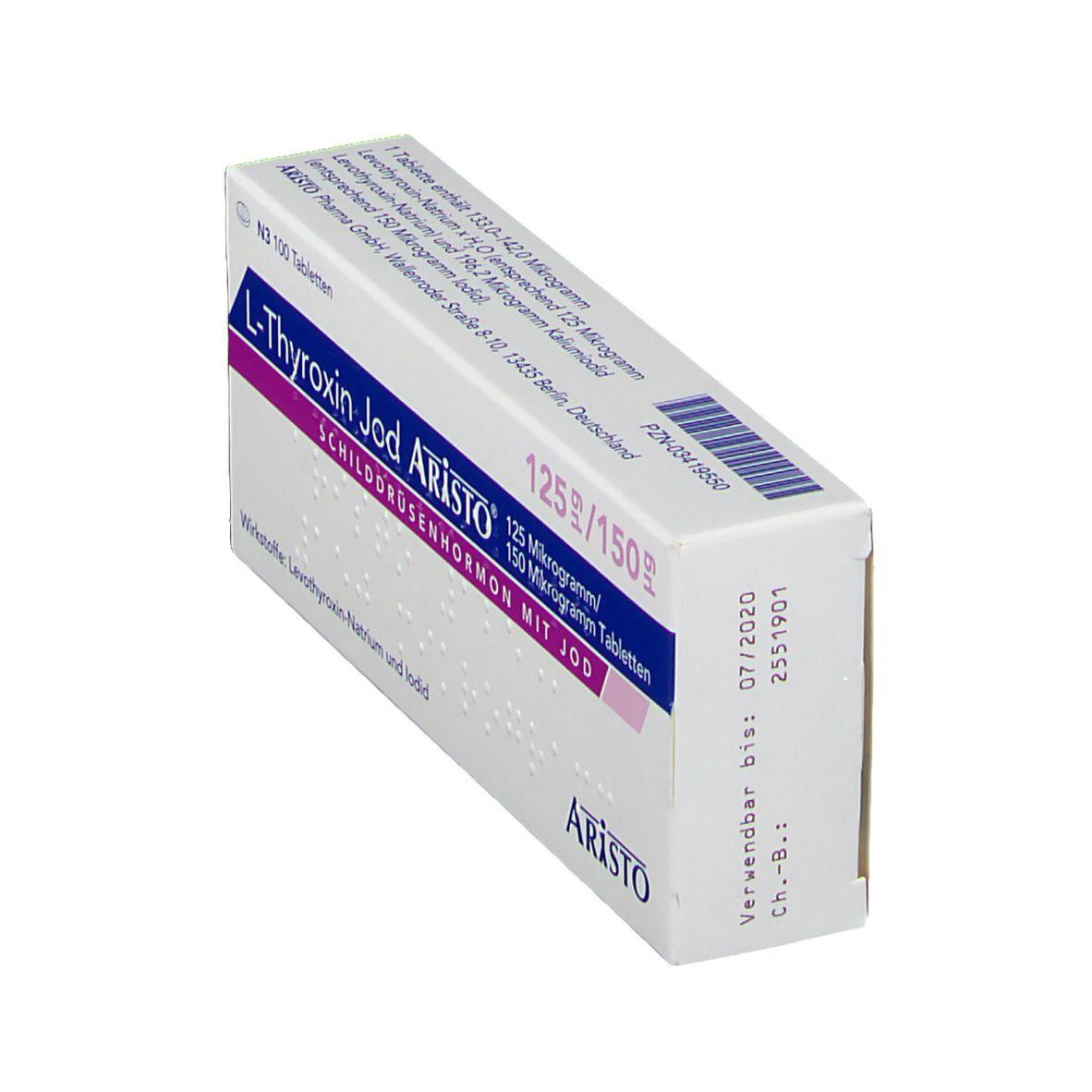 Levothyroxin-Natrium wird zur Gewichtsreduktion eingesetzt