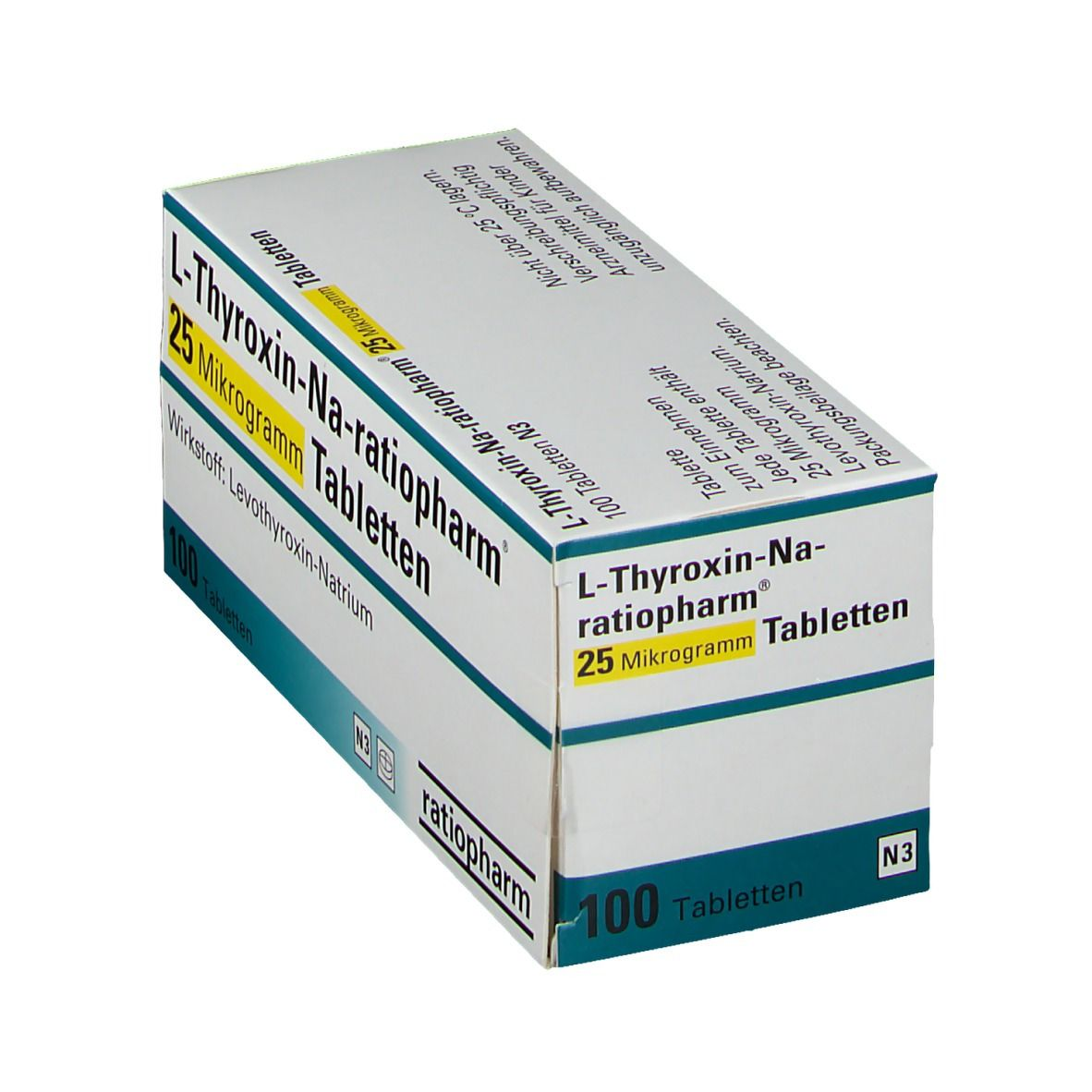 L Thyroxin Vergessen