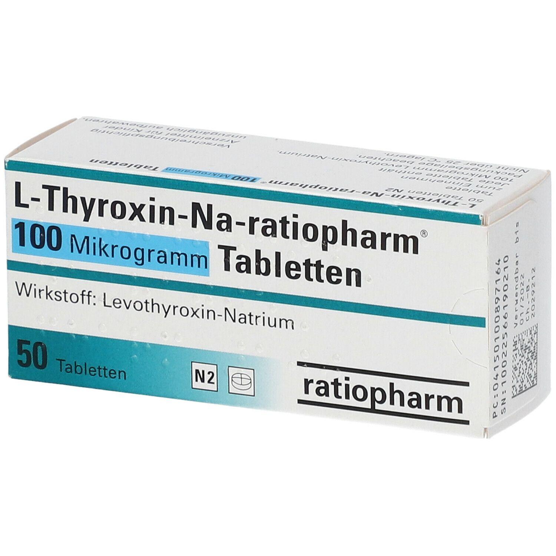 L Thyroxin Und Pille