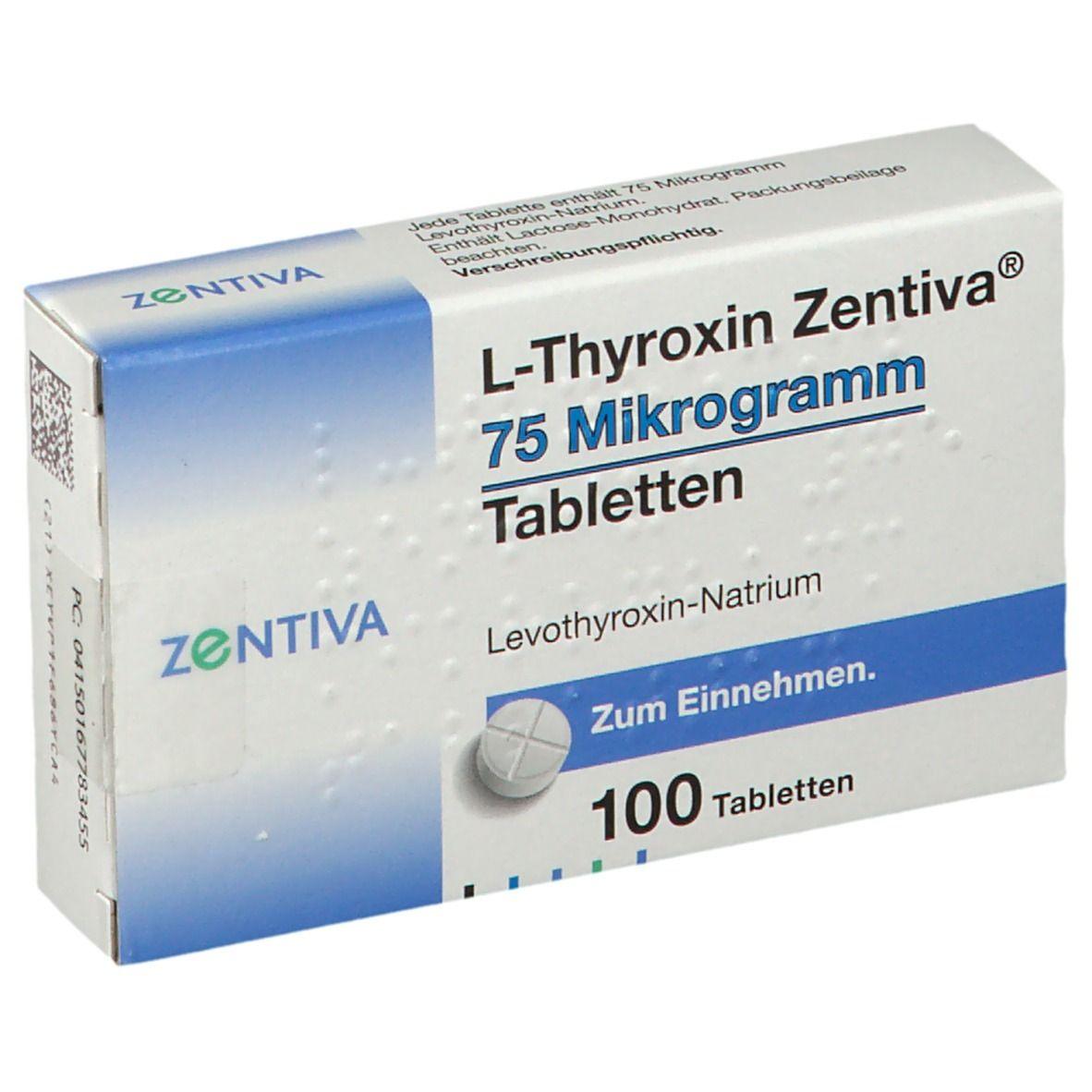 L thyroxin wechselwirkung mit anderen medikamenten