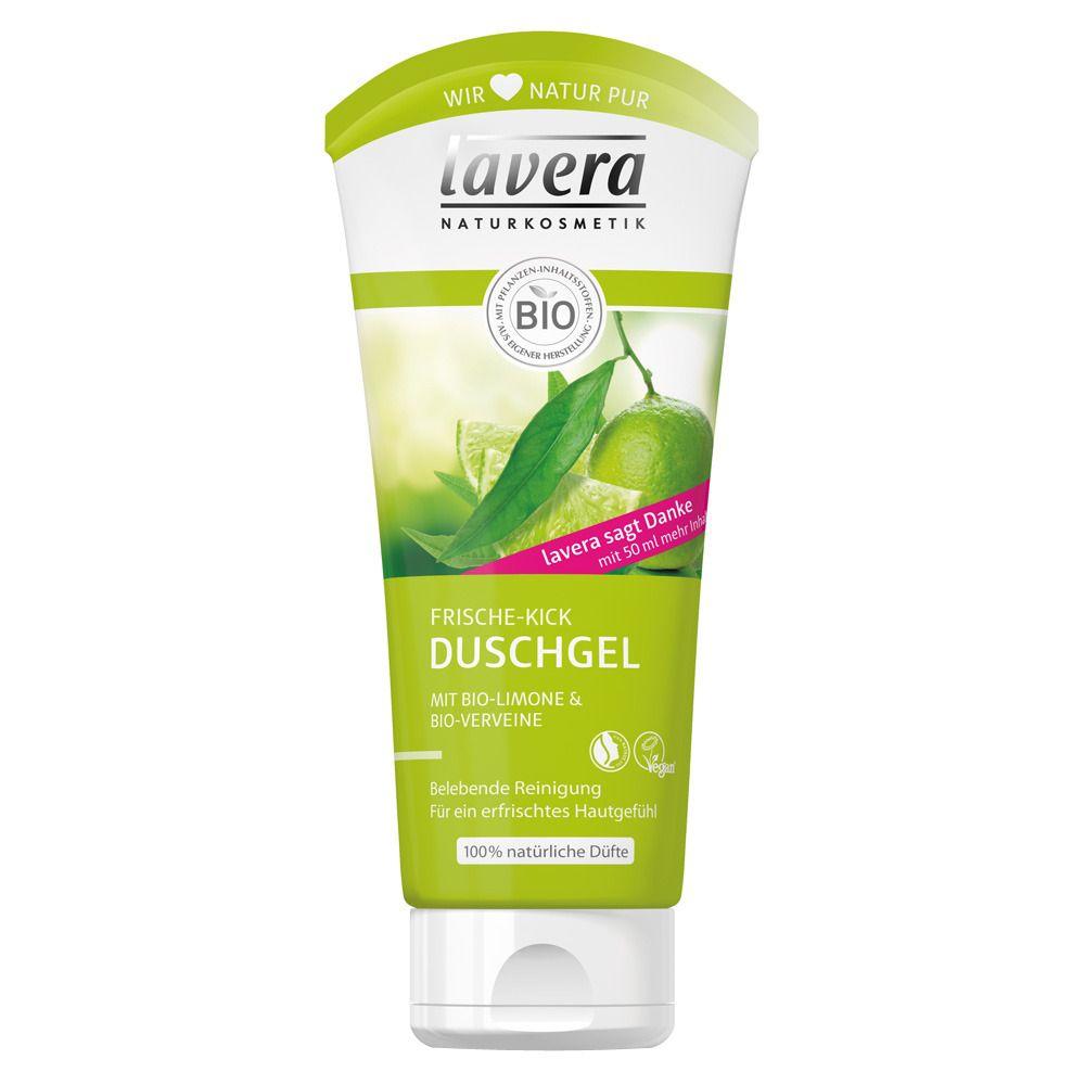 lavera Duschgel Bio-Limone & Bio-Verveine