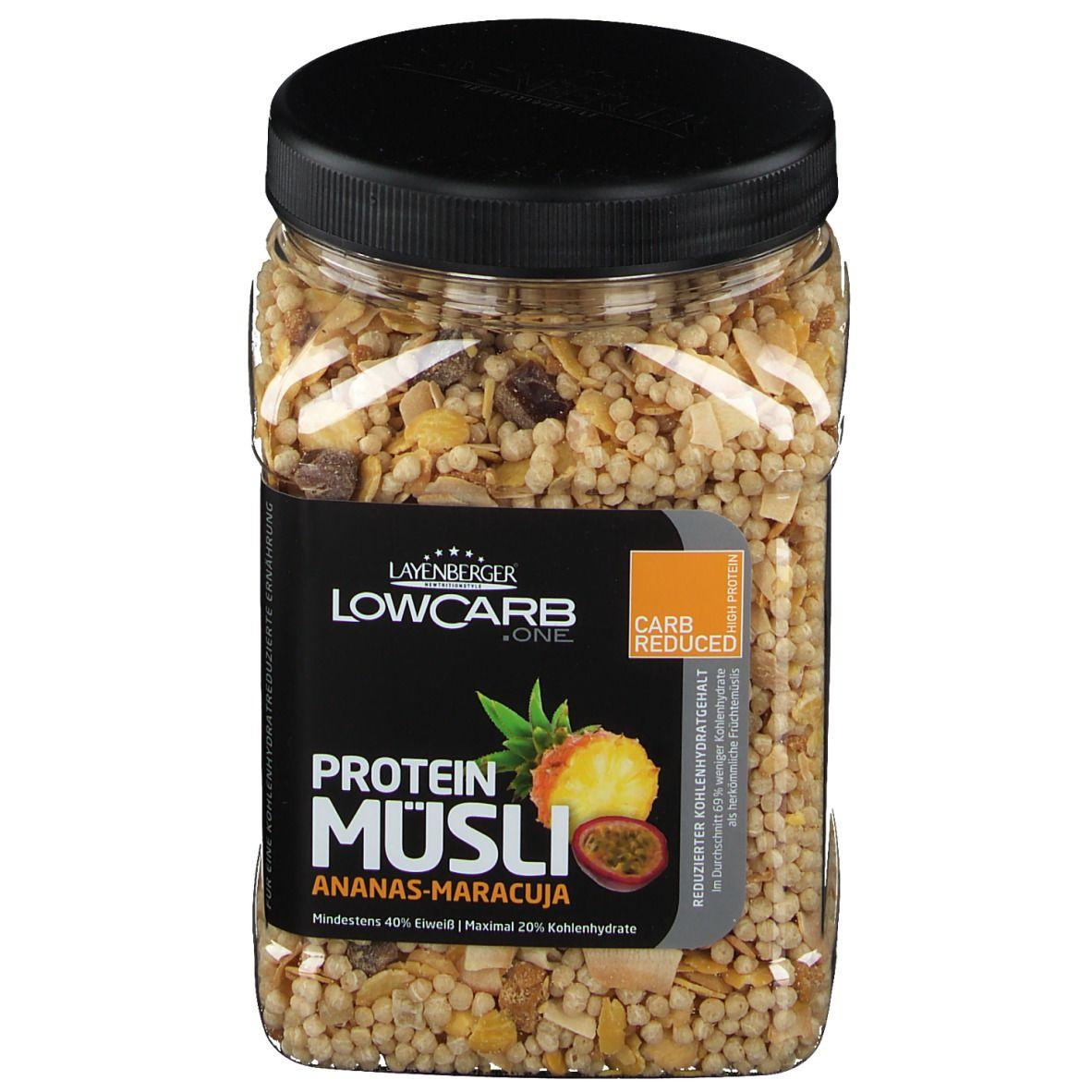 LAYENBERGER® LowCarb Protein-Müsli Ananas-Maracuja