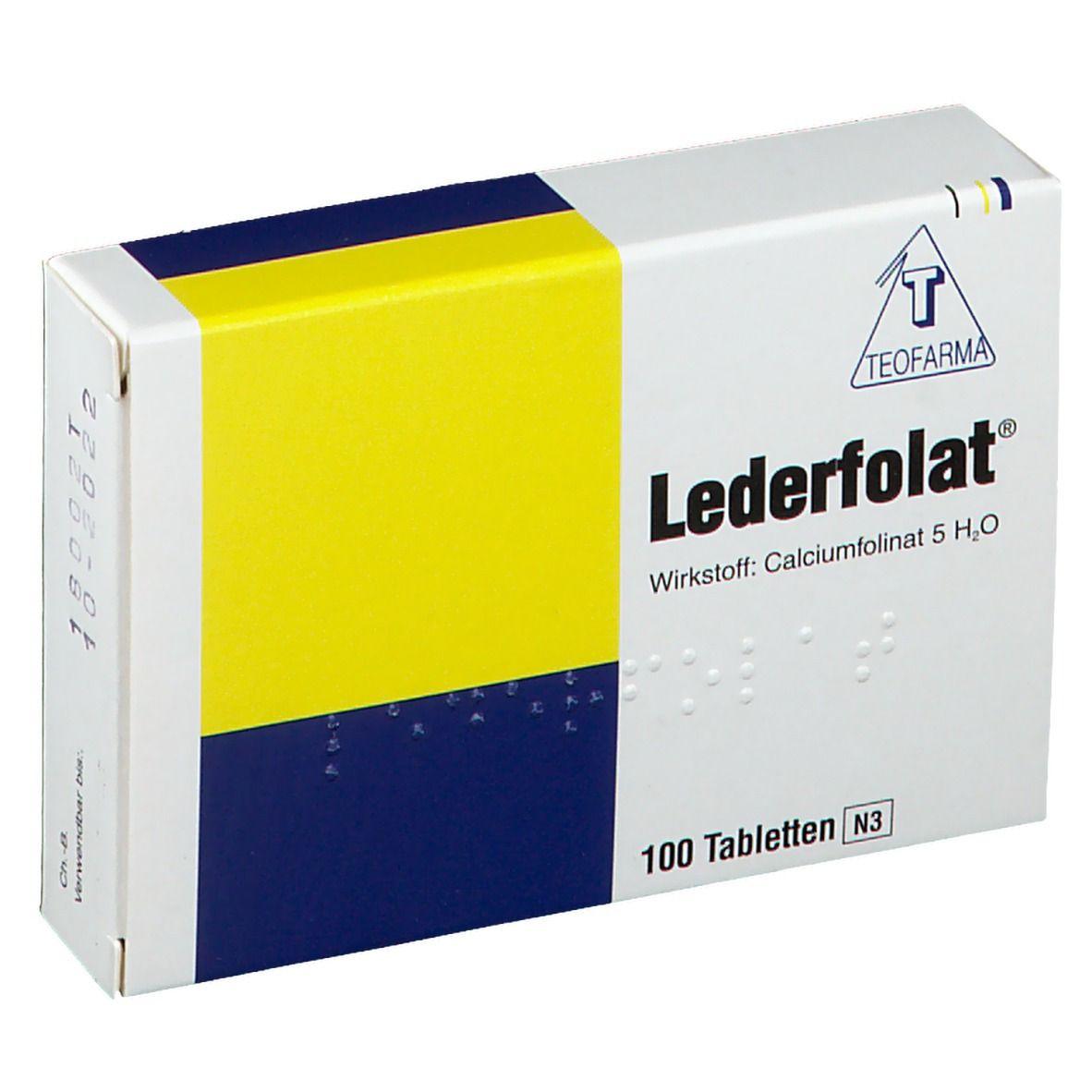 Lederfolat Tabletten