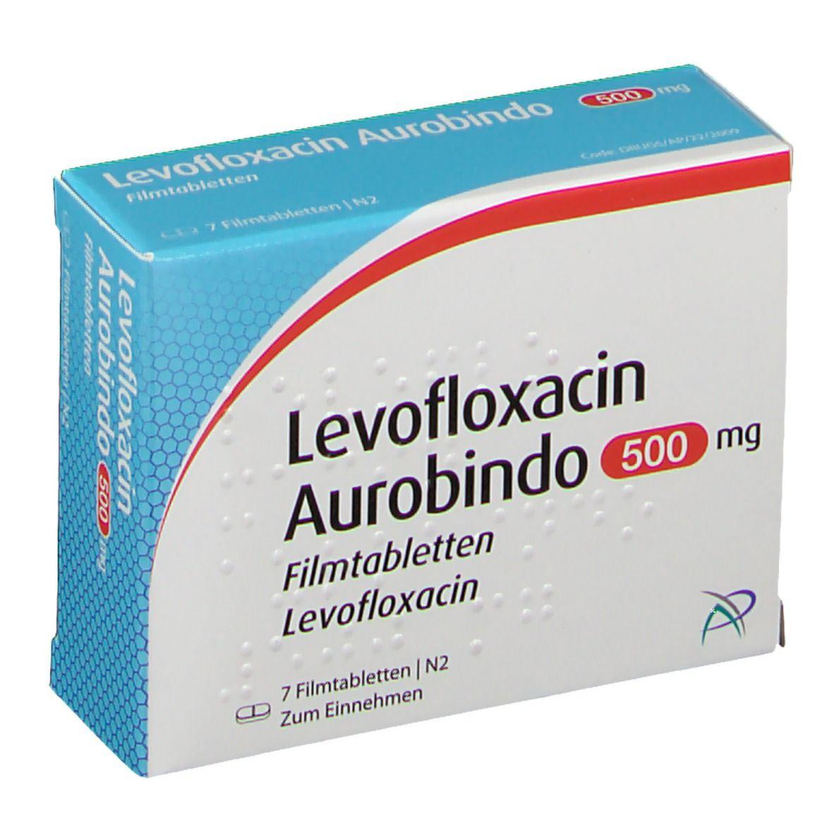LEVOFLOXACIN Aurobindo 500 mg Filmtabletten 7 St - shop