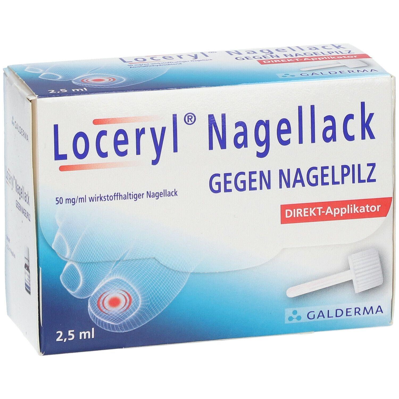 loceryl nagellack gegen nagelpilz direkt