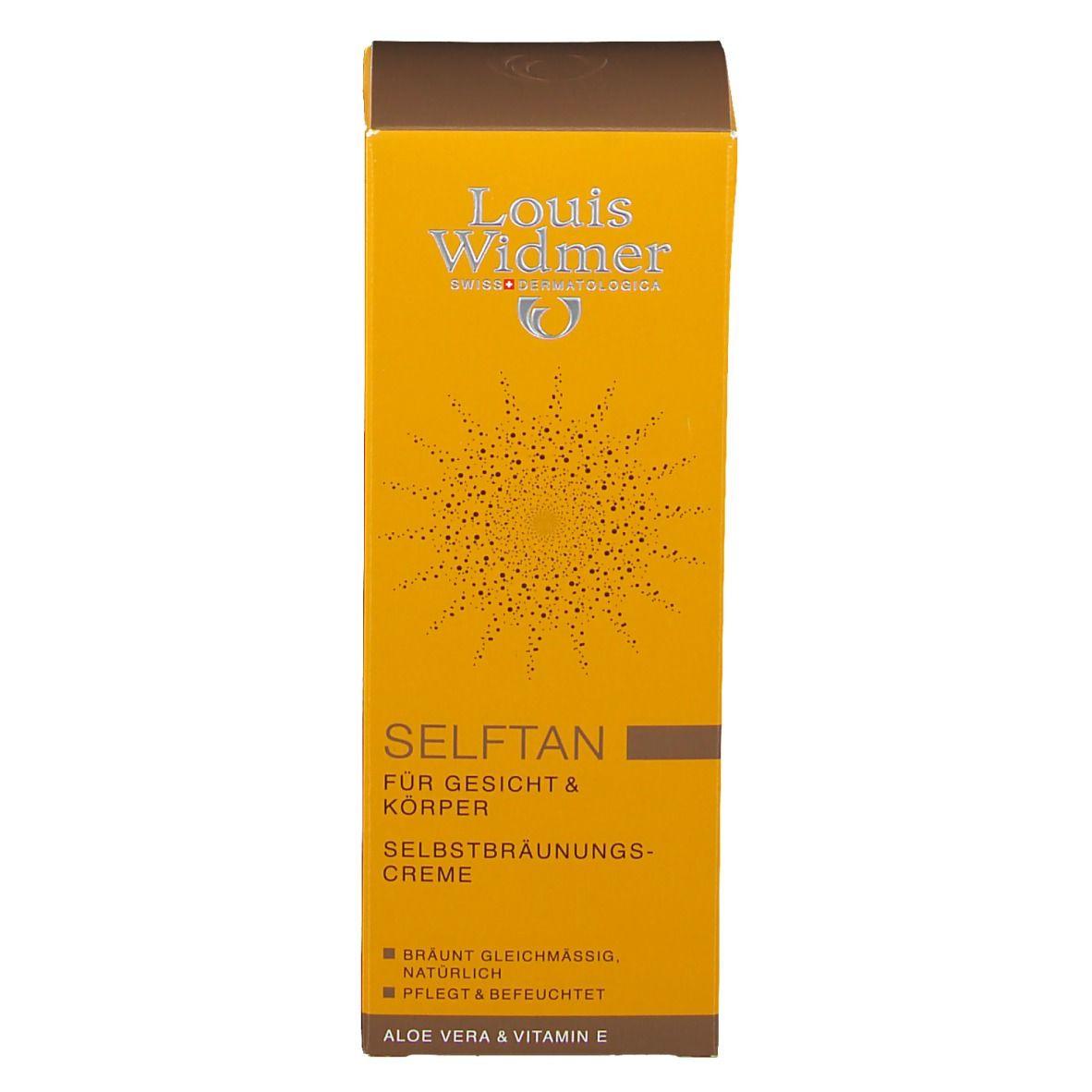 Louis Widmer SelfTan Lotion leicht parfümiert