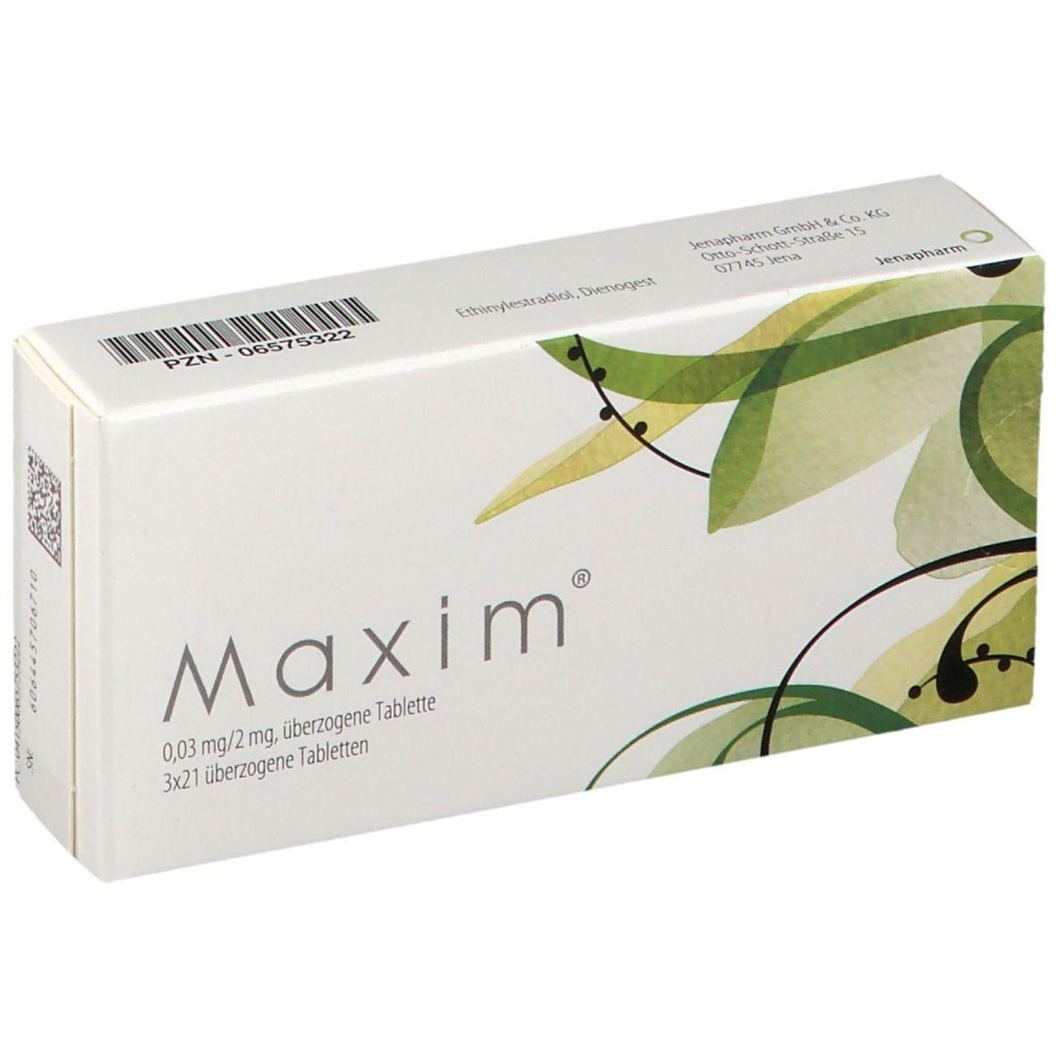 Maxim pille zunahme durch Pille maxim?
