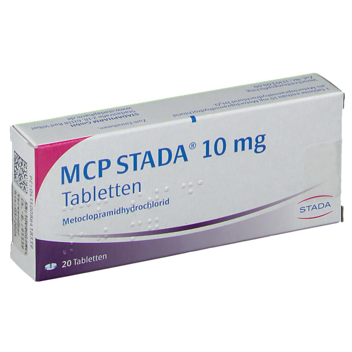 mit.mcp tabletten abnehmen