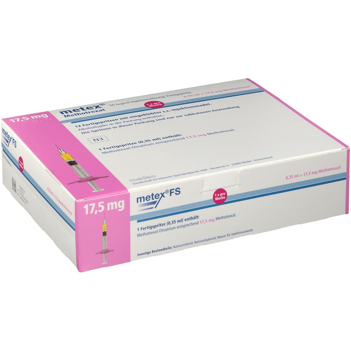 METEX FS 17,5 mg 50 mg/ml Fertigspritzen