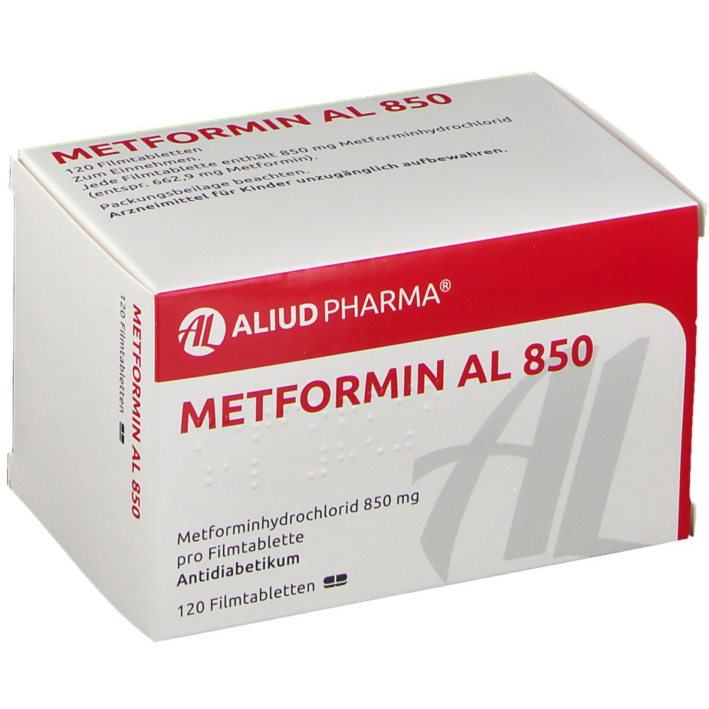 Metformin zur Gewichtsreduktion 850