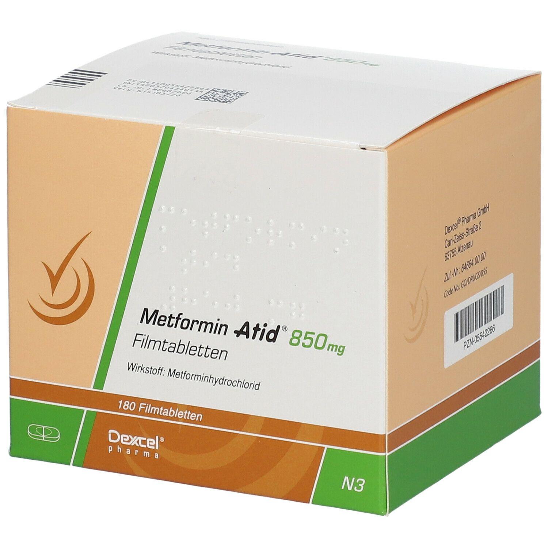 Metformin Pillen sind zur Gewichtsreduktion