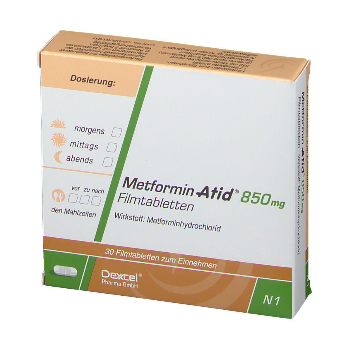 Metformin für Gewichtsverlust Dosierung Schriftart