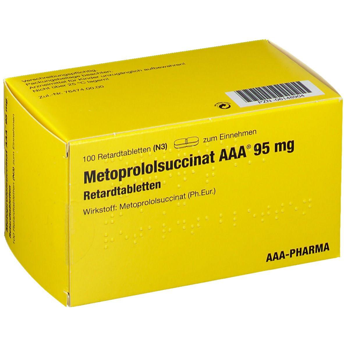 METOPROLOLSU AAA 95MG