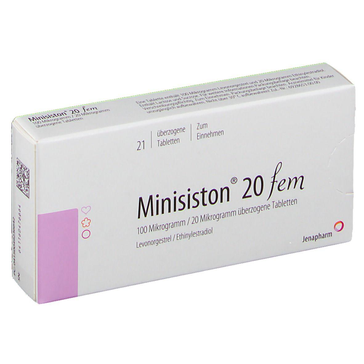 Minisiston® 20 fem 1X21 St - shop-apotheke.com