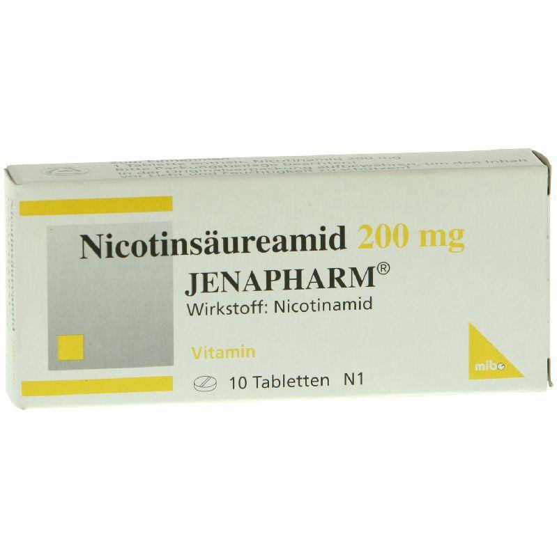 Nicotinsäureamid 200 mg JENAPHARM®