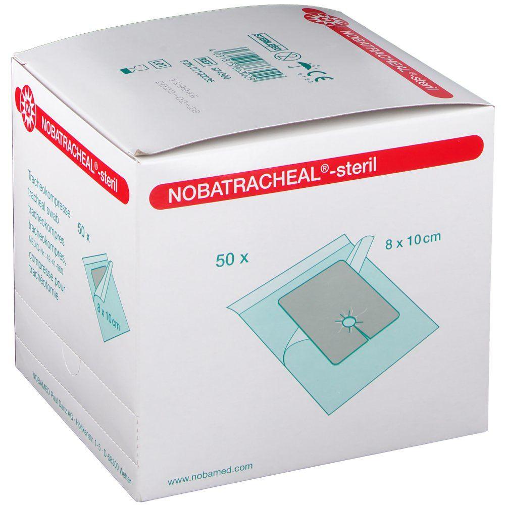 NOBATRACHEAL 8X10CM STERIL