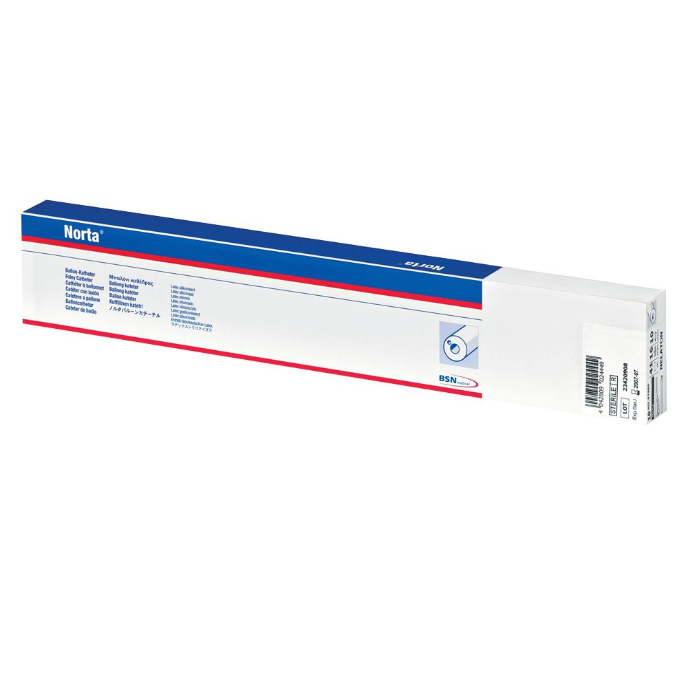 Norta® Latex Dauerspülkatheter 10 ml