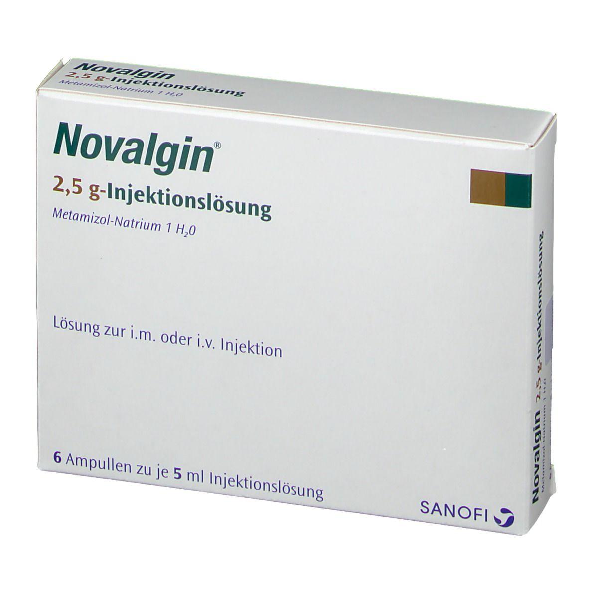 Ibuprofen gleichzeitig novalgin Novalgin