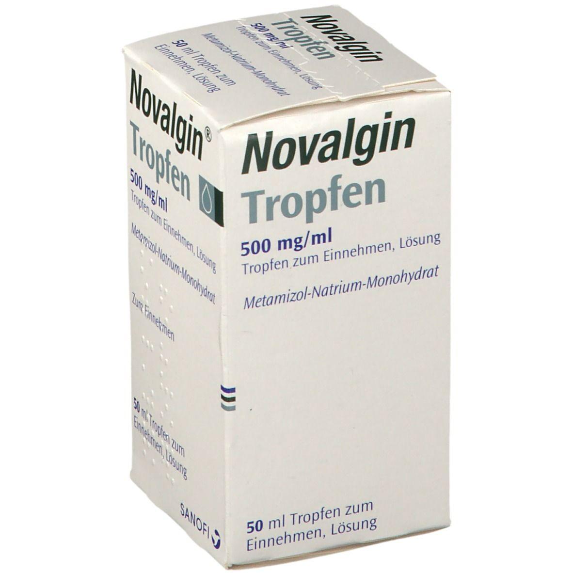 Novalgin® Tropfen 500 mg/ml 50 ml - shop-apotheke.com