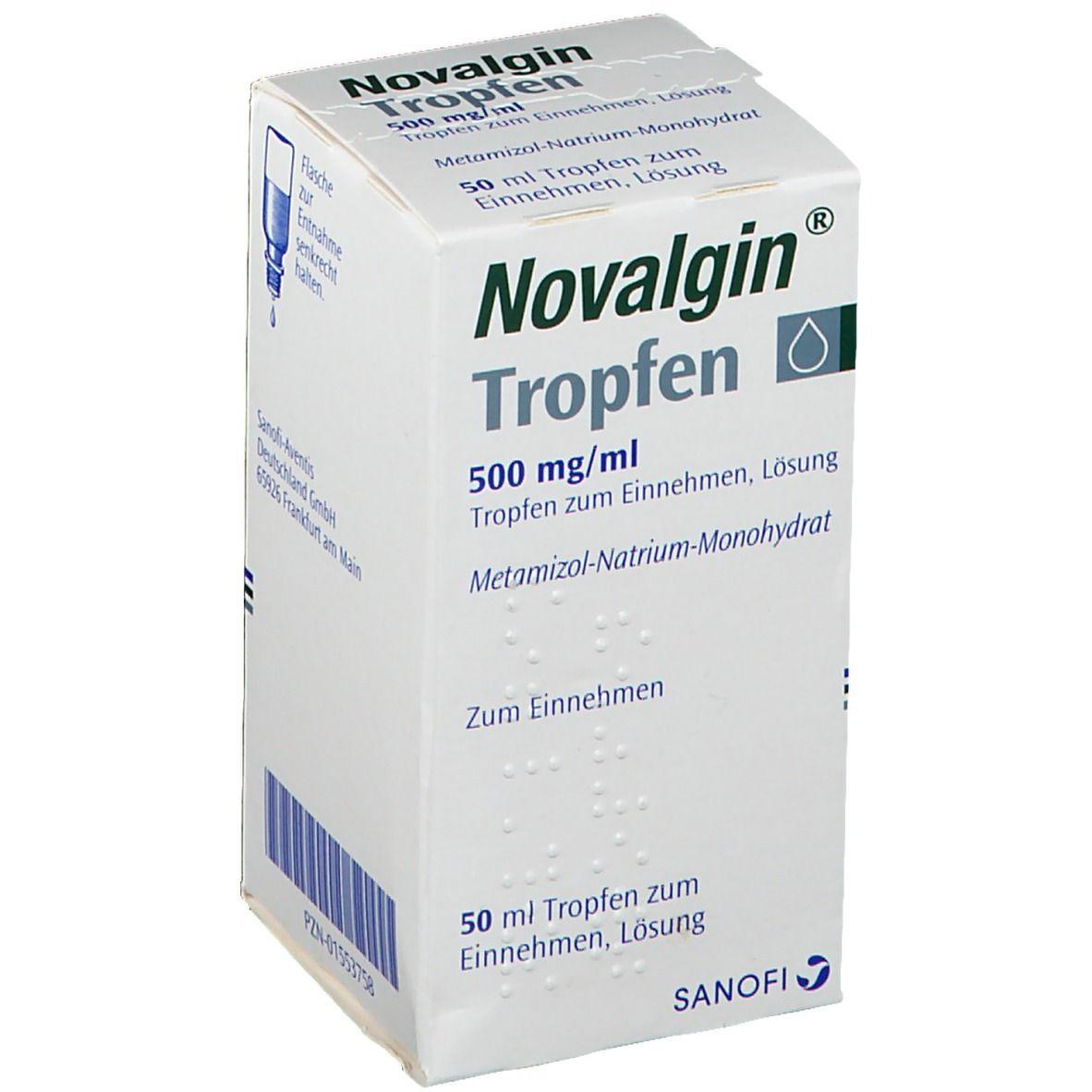 Novalgin Tropfen 50 ml - shop-apotheke.com