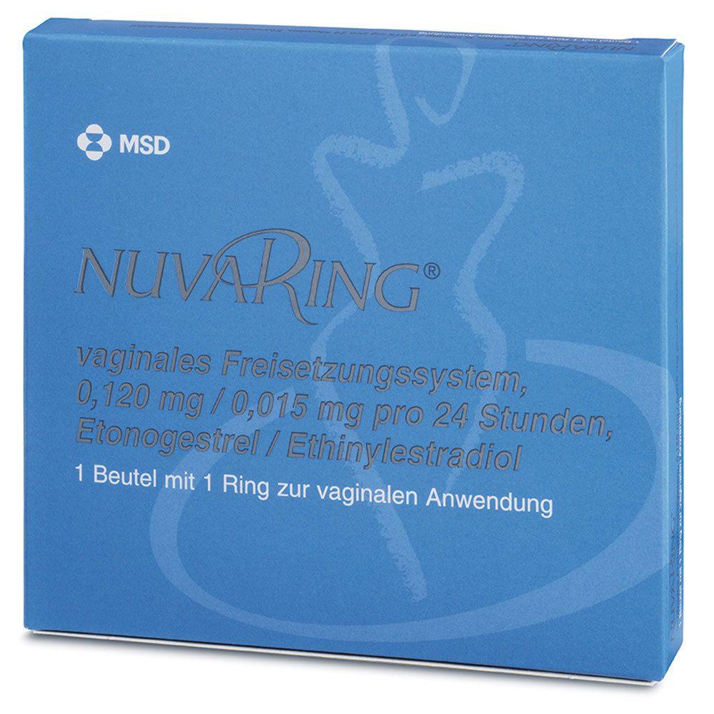 NuvaRing® 0,120 mg/0,015 mg pro 24 Stunden 1 St - shop