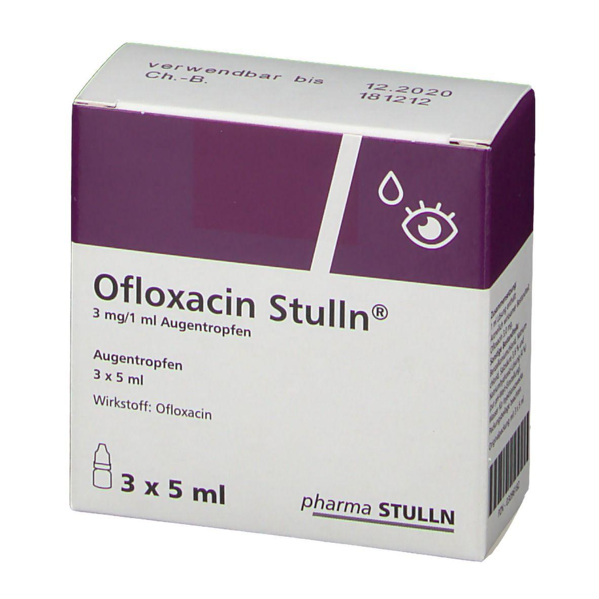 OFLOXACIN Stulln Augentropfen 3X5 ml - shop-apotheke.com