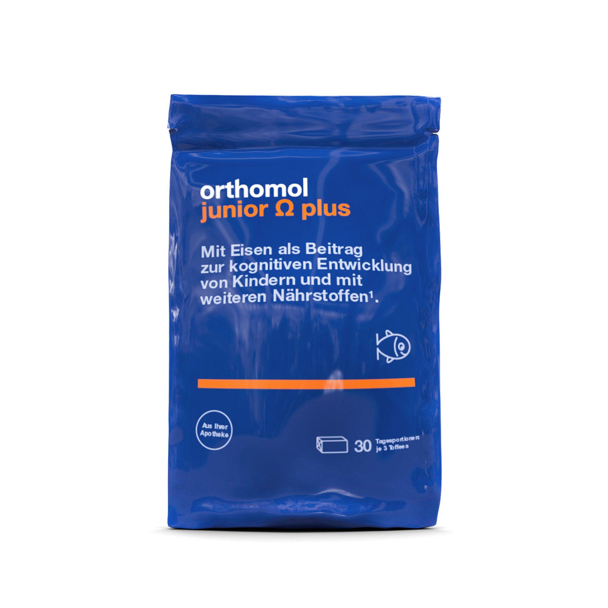 Orthomol Junior Omega Plus Kaudragees 30 St Shop Apotheke Com