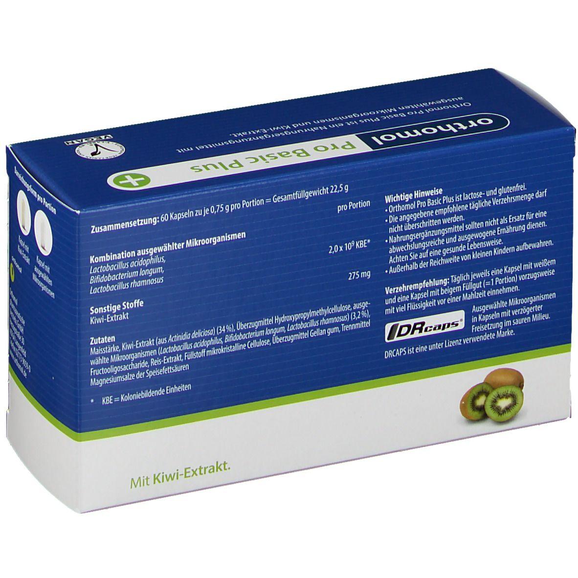 Orthomol Pro Basic Plus Kapseln