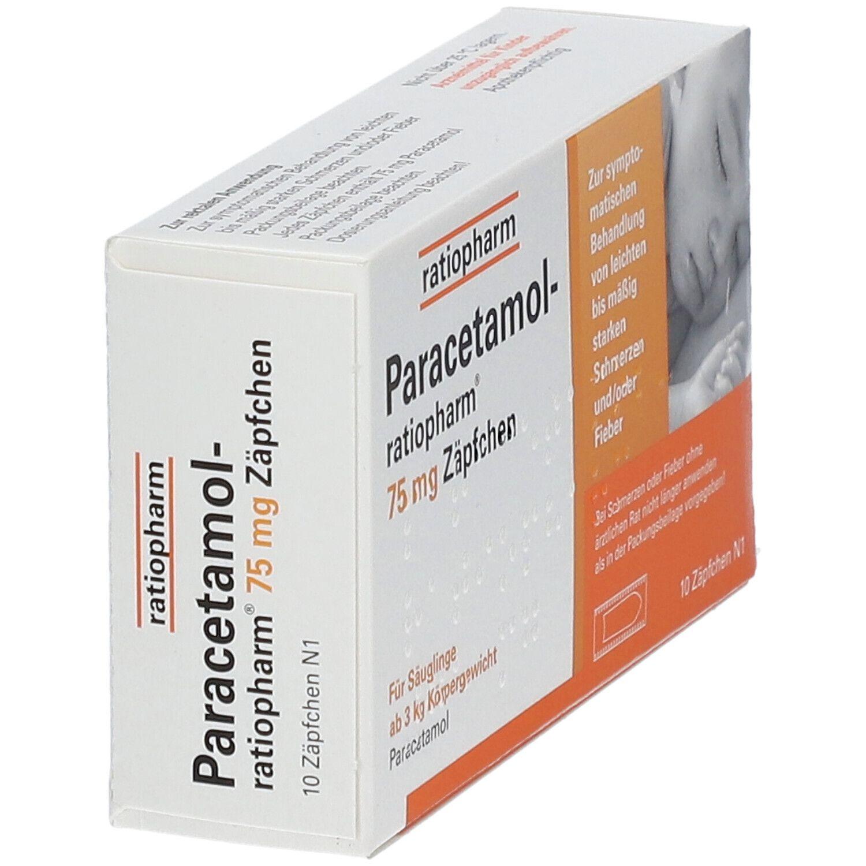 Wie Schnell Wirken Paracetamol Zäpfchen